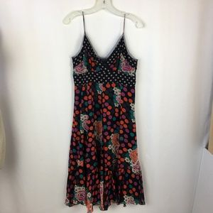 Vivienne Tam Silk Sundress Size 3 US 8 Medium Dot